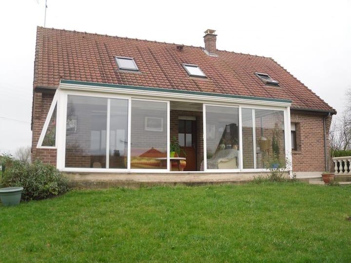 Le Petit Senlis 4 personnes 90 m²/20 km de Hesdin
