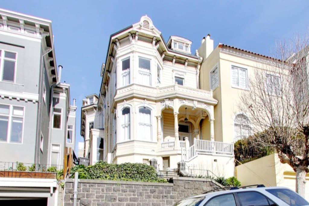 San Francisco Landmark #168  William Vale House  Built 1885