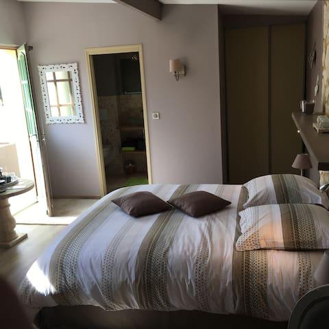 Les chambres du Bonheur pres de GIVERNY - Fontaine-sous-Jouy - ゲストハウス
