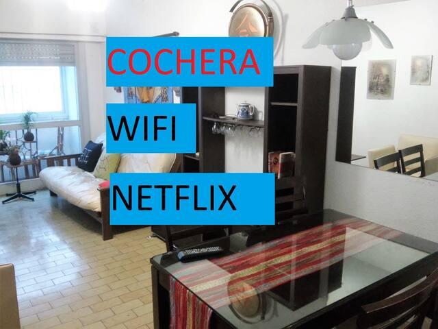 Departamento Plaza Colon con Cochera Wifi