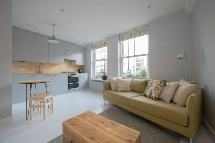 Sunny flat in central Hackney - London - Apartment