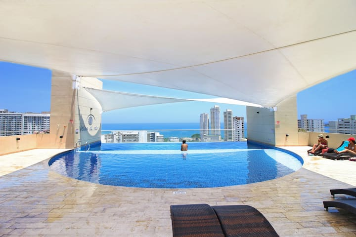 Beautiful brand new apartment in South Rodadero!