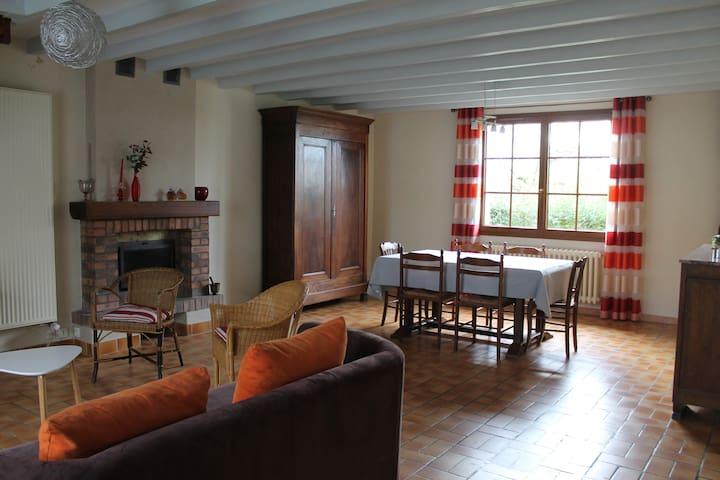 Logement de caractère 120 m²  dans ferme rénovée