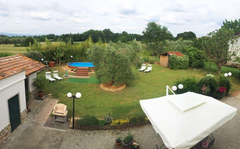 casa di campagna con piscina  - free wi-fi