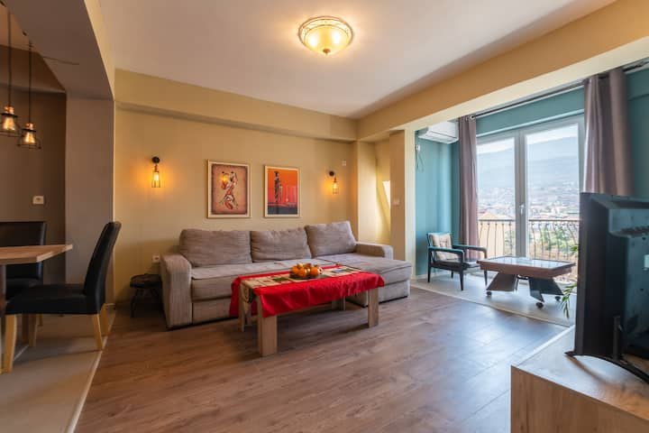 Sky's luxury apartment!