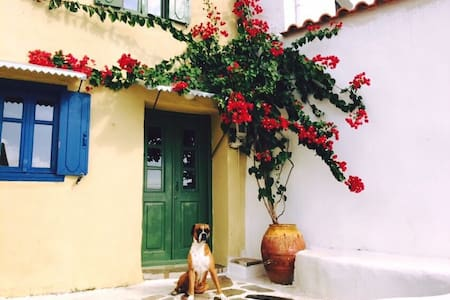 Traditional house in samos island! - Koumeika