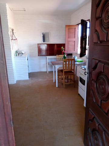 Kitchenette close to centre + beach
