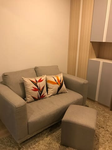 New 32 sq.m room near BTS (Sukhumvit line) + Bitec