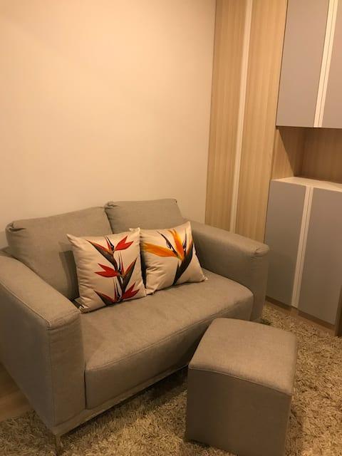 New 32 sq.m room near BTS (Sukhumvit line) + Bitec