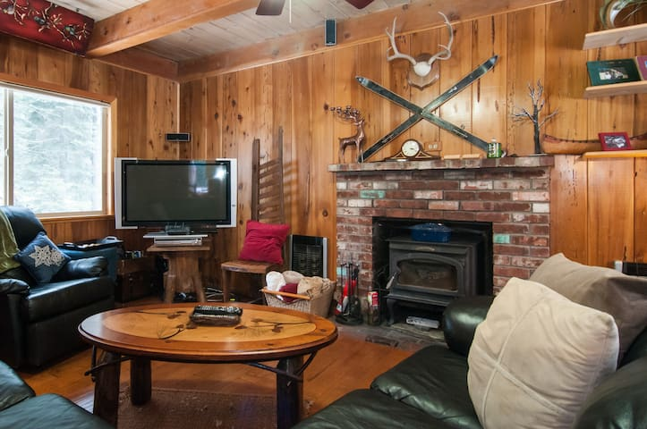 Relax in Spa at Creek-Side Cabin in Donner Lake