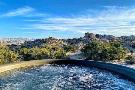 360° Private Piece of Joshua Tree *Hot Tub*