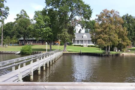 Large House on Lake Marion with Dock - Summerton