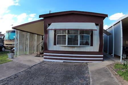 One Bedroom Trailer Home.