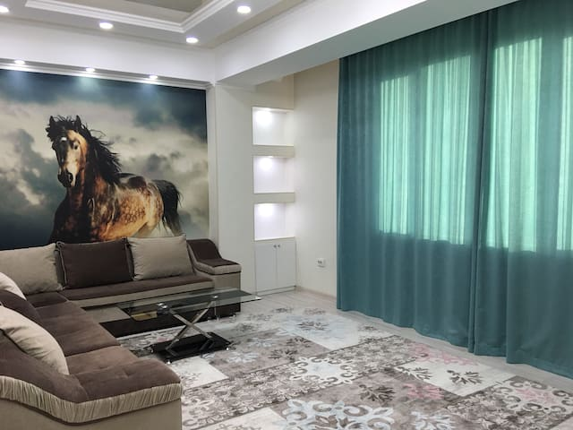Beautiful white apartment  in the city center!