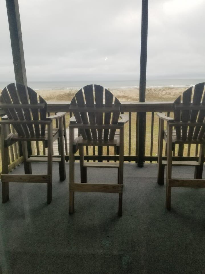 Ocean Front Condo 5A Hatteras High