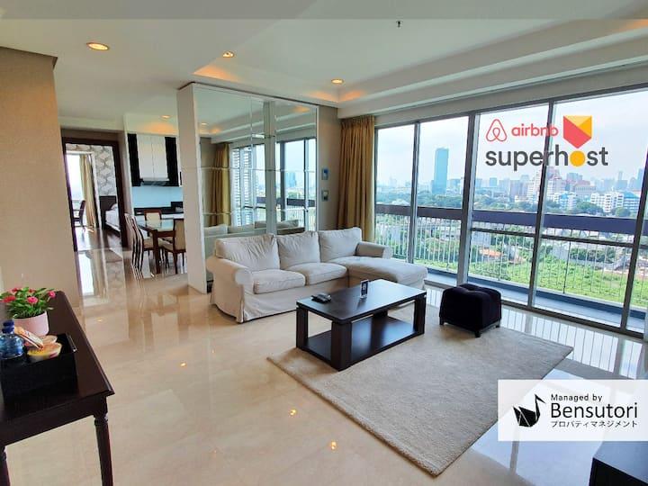 Luxurious 2BR Apt at Kemang Mansion by Bensutori