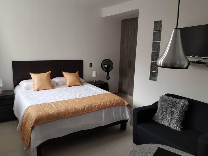 302 Moderno Aparta-Suite en Versalles Tipo Loft