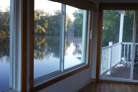 Saco River apartment, sunny and family friendly - Biddeford - Flat