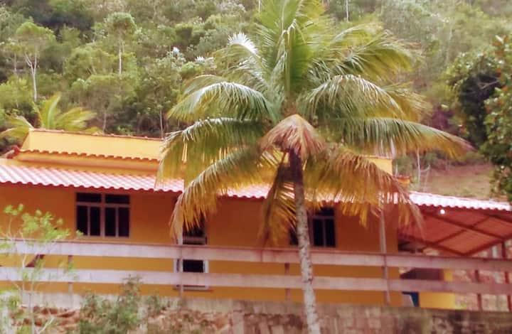 Casa com vista para o mar em Provetá - Ilha Grande