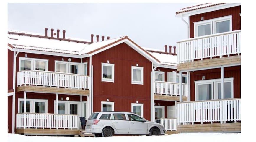 Renoverad lägenhet utanför Sandviken