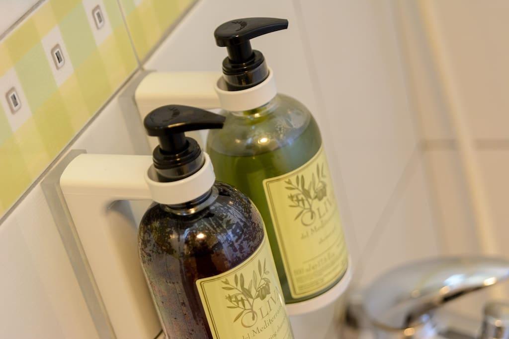 高級沐浴用品