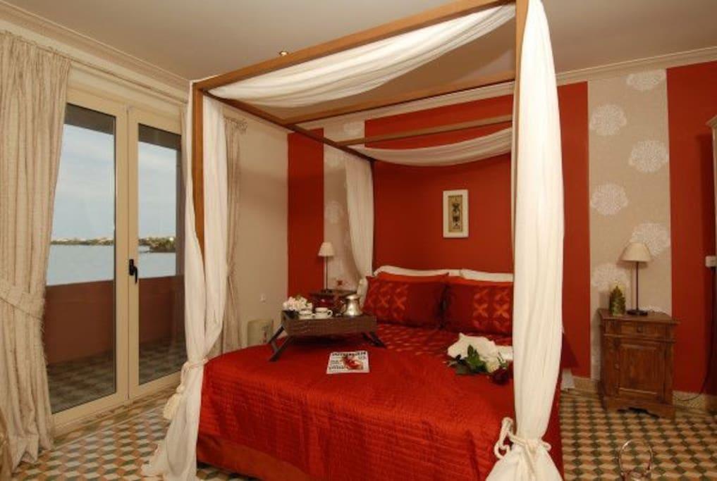 Alkyone master bedroom