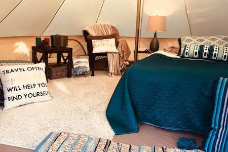 Glamping Under the Desert Stars-Private Getaway!