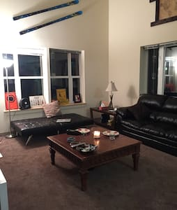Cozy apartment with one bedroom den - Winooski - Apartment