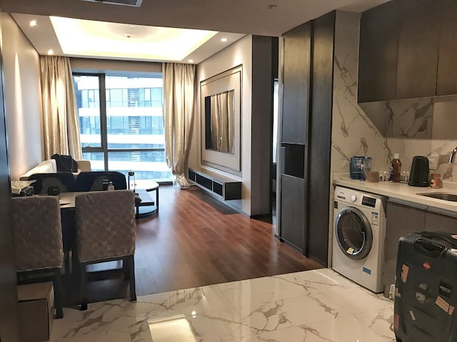 五星级酒店式公寓|Service Apartment in SIP - Suzhou - Apartamento