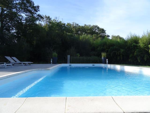 DAX Maison très agréable piscine 6/8 personnes - Dax - Casa