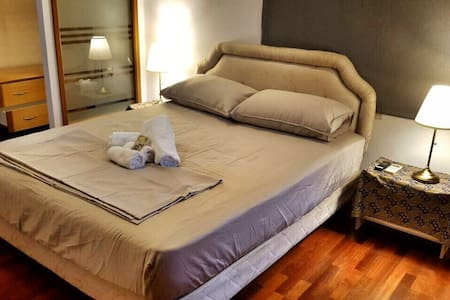 Lovely room with luxurious mattress and bedding - Kuala Lumpur - Lejlighed