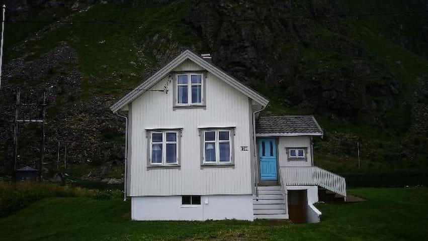 Mariehuset på Eggum i Lofoten