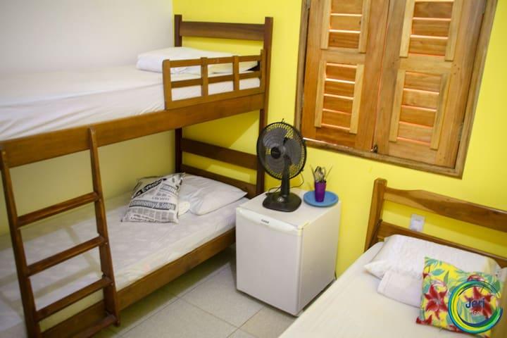 Suite privativa para até 4 pessoas APT.8