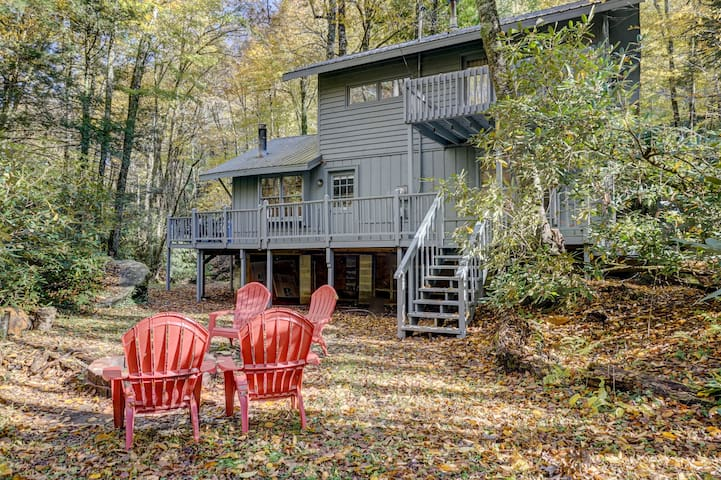 Creekside Zen - Appalachian Hideaway Perfection! Minutes From ASU, Downtown Boone and Tweetsie!