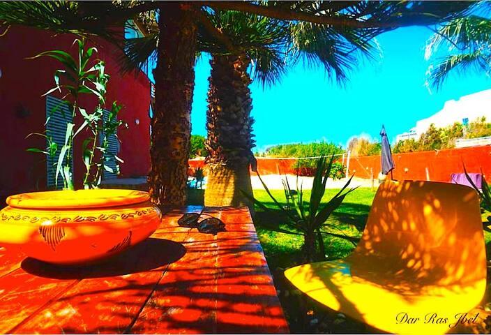 Dar Ras Jebel - Maison d'hôtes - Private room