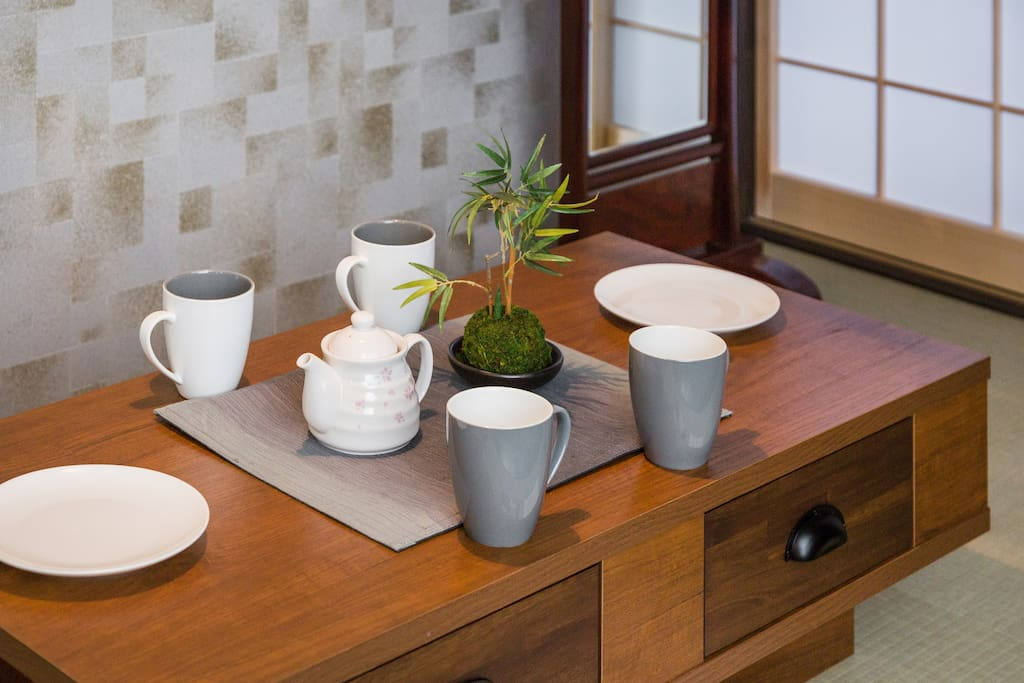 Dining low table