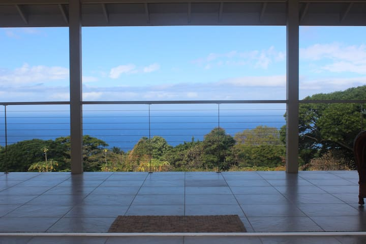 Kona Unique Natural Acreage  Home