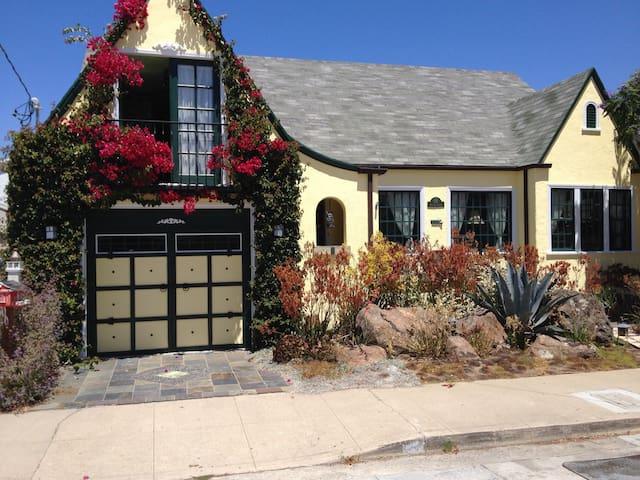 Sunny Santa Cruz Bungalow. - Santa Cruz - House