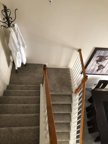 Staircase to 2nd Floor