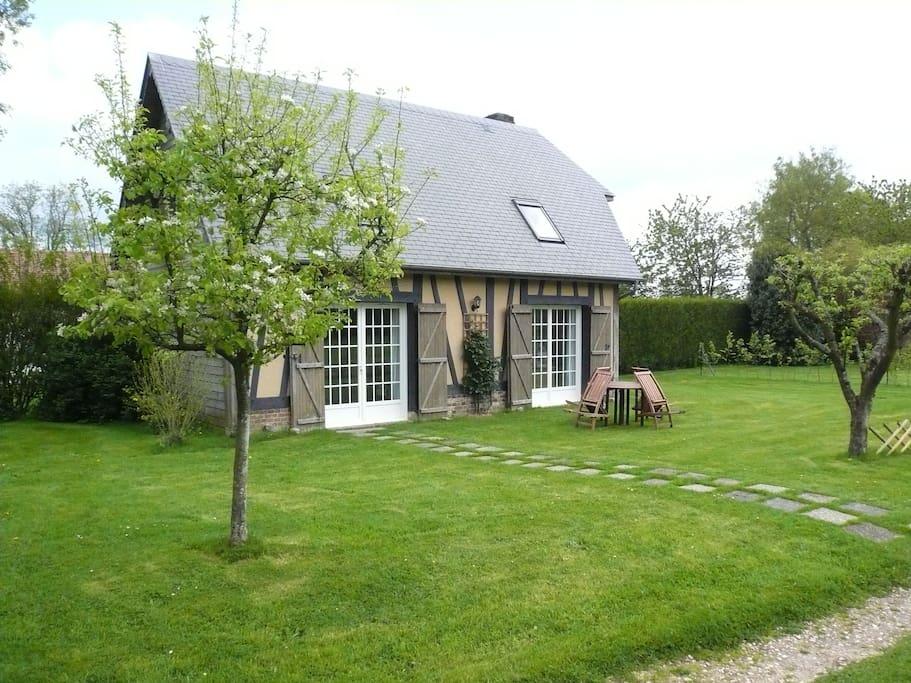 La petite maison des forgettes case in affitto a bosc - La petite maison normandie ...