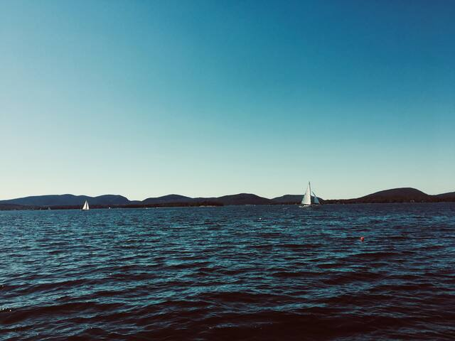 View Acadia from the Ocean - a stunning experience. porpoise, seals, puffins... the Acadia skyline!