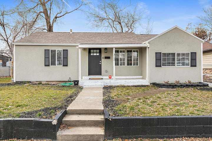 Newly remodeled Salt Lake home, 5 min to downtown!