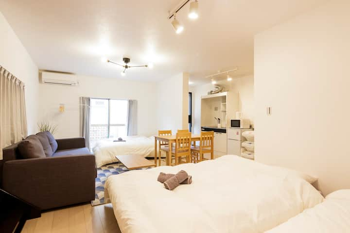 #1 50㎡ Renovated Spacious House near Shinjuku/WiFi