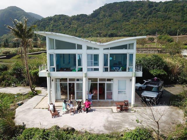 想飛度假屋2樓整層驚喜海景山景房Wishfly Ocean view suites