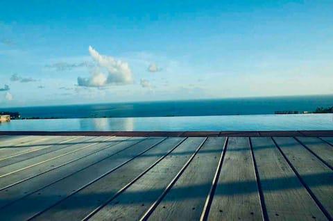 Авалон - Карибская вилла с потрясающим видом на океан