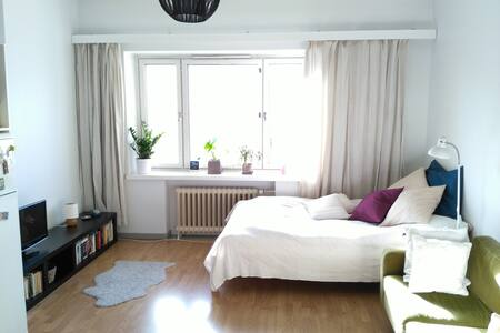 Cosy and light studio in Kallio - Helsinki - Byt