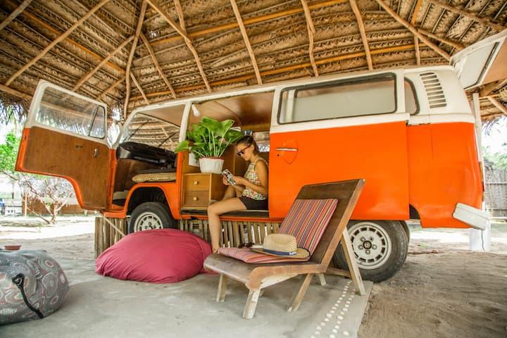 Caravan in Kalpitiya