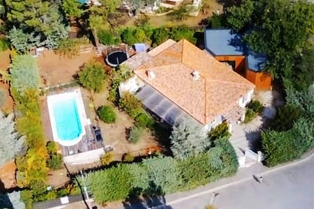 Provence / modern wood house with pool  -10%/month - Gréasque - Ev