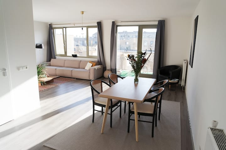 Big, bright and spacious appartement in Amsterdam!