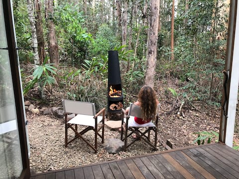 """Maleny: """"The Bower"""" - 'glamper's shack'"""